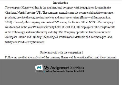 financial accounting assignment answer
