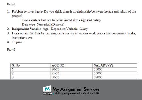 maths assignment solution