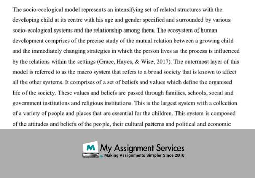 essay samples 4